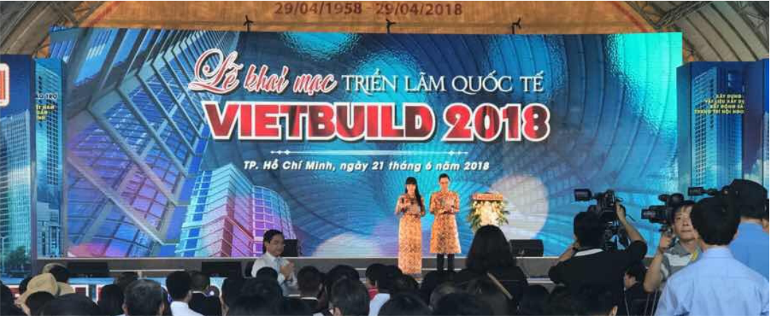 2018 VIETBUILD Ho Chi Minh Construction International Fair Exhibition